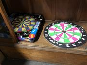 Sale 8789 - Lot 2319 - Unmatched Pair of Dart Boards