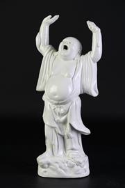 Sale 8894 - Lot 35 - Figure of a Laughing Buddha (H31cm)