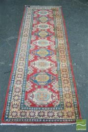 Sale 8398 - Lot 1086 - Persian Kazak Runner (270 x 90cm)