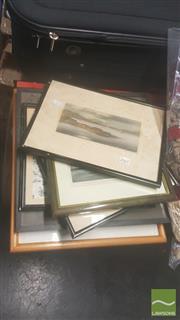 Sale 8446 - Lot 2061 - 7 Various Photo Prints, Etchings, Engravings etc