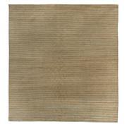 Sale 8913H - Lot 66 - Nepal Tashi Abrash Stripes Carpet, 300x280cm, Tibetan Highland Wool