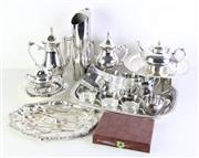 Sale 8985 - Lot 60 - A Large Collection of Silver Plated Wares inc Tray (L 45cm) and Others