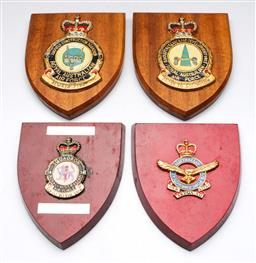 Sale 9144 - Lot 89 - A collection of Australian Air Force Plaques