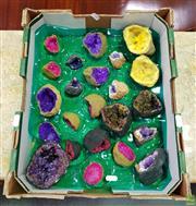 Sale 8611 - Lot 1084 - Assortment Split African Geodes