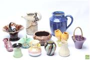 Sale 8644 - Lot 89 - Collection of Australian Studio Pottery, Various Sizes (12)
