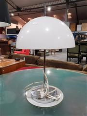 Sale 8765 - Lot 1029 - Perspex Top Mid Century Table Lamp