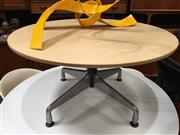 Sale 8859 - Lot 1046 - Eames Coffee Table With Aluminium Base ( 80cm)