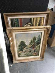 Sale 8856 - Lot 2083 - 2 Framed Tapestries