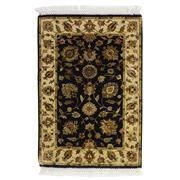 Sale 8913H - Lot 67 - Indian Extremely Fine Jaipur Woven Classic Rug, 91x65cm, Silk & Wool Inlaid