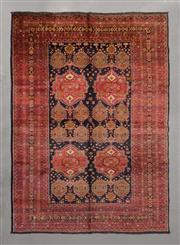 Sale 8493C - Lot 23 - Vintage Afghan Qunduzi (approx. 60 y.o) 285cm x 203cm