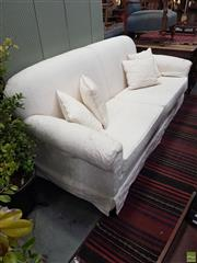 Sale 8601 - Lot 1354 - Fabric 3 Seater Lounge