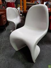 Sale 8625 - Lot 1011A - Set of Five Panton Chairs