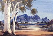 Sale 8696 - Lot 568 - Claude Pannka (1928 - 1972) - MacDonnell Ranges 34.5 x 51cm