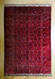 Sale 8693C - Lot 16 - Afghan Qunduzi 195cm x 130cm