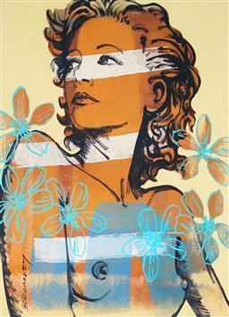 Sale 9081A - Lot 5071 - David Bromley (1960 - ) - Hillary 33 x 24 cm