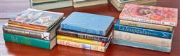 Sale 9103M - Lot 490 - A shelf lot of books of mixed genre.