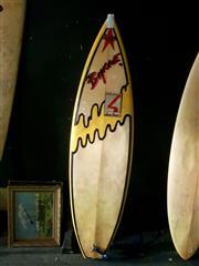 Sale 8668 - Lot 2090 - Laurie Byne Surfboard