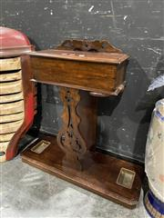Sale 8876 - Lot 1002 - Mahogany Hall Stand