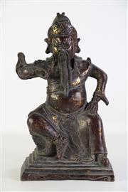 Sale 8926A - Lot 619 - Bronze Figure Of a Chinese Elder (H: 33cm), mark to back