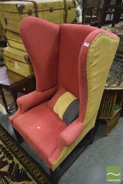 Sale 8347 - Lot 1058 - Wingback Armchair