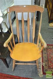 Sale 8431 - Lot 1099 - Timber Rocking Armchair