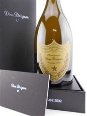 Sale 8479 - Lot 1844 - 1x 2002 Moet et Chandon Cuvee Dom Perignon Brut, Champagne - in box