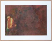 Sale 8677B - Lot 558 - Artist unknown, Abstract Landscape, work on paper, 60cm x 84cm