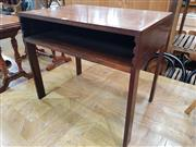 Sale 8705 - Lot 1038 - Danish Side Table by Illem Wikkelso
