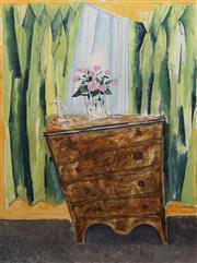 Sale 8732 - Lot 579 - Victor Rubin (1950 - ) - An Interesting Interpretation (from a Womens Weekly), 1976 121.5 x 91.5cm