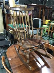 Sale 8822 - Lot 1890 - Timber Rocking Chair