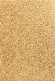 Sale 8321 - Lot 584 - Jeannie Petyarre (c1956 - ) - Bush Yam Leaf, 2007 181 x 122cm (framed & ready to hang)