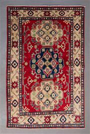 Sale 8493C - Lot 25 - Afghan Kazak 159cm x 104cm
