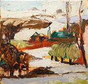 Sale 8575 - Lot 529 - Craig Waddell (1973 - ) - Orchard View, 2005 100 x 101cm