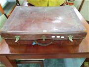 Sale 8593 - Lot 1064 - E & L Adams Vintage Suitcase