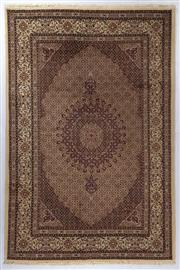 Sale 8372C - Lot 69 - An Iranian Rug, Khorasan Region With Medallion Centre, Very Fine Wool And Silk Pile., 300 x 200cm