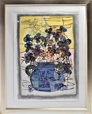 Sale 8778A - Lot 5036 - Avi Ben-Simhon - Dream Blossoms 98.5 x 129cm (frame)