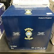 Sale 8801W - Lot 98 - 6x Bombay Sapphire London Dry Gin, 700ml