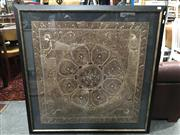 Sale 8809 - Lot 1082 - Framed Indian Tapestry