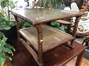 Sale 8822 - Lot 1530 - Glass Top Coffee Table
