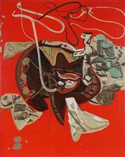 Sale 8870A - Lot 532 - Maurice Cockrill (1935 - 2013) - Anamnesis #2 120 x 100 cm