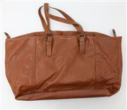 Sale 8902H - Lot 163 - A tan leather tote bag by Gerard Darel, made in France