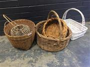 Sale 9006 - Lot 1047 - Collection of Various Baskets (various sizes)