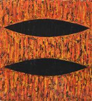 Sale 8411A - Lot 5037 - Michael Eccleston (1957 - ) - Union Two (Red) 150.5 x 134.5cm
