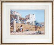 Sale 8443 - Lot 556 - Lionel Lindsay (1874 - 1961) - Capri 27 x 37cm
