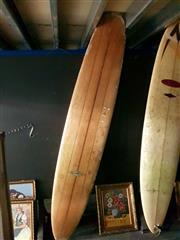 Sale 8668 - Lot 2088 - Gordon Woods Long Board