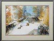 Sale 8716 - Lot 2034 - Judith White - Sydney Street Scene, 1985 64.5 x 91.5cm