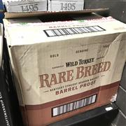Sale 8801W - Lot 99 - 6x Wild Turkey Rare Breed Barrel Proof Bourbon Whiskey 58.4%, 700ml in canisters