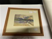 Sale 9061 - Lot 2060 - Artist Unknown - Pastoral Scene, frame: 24 x 30 cm