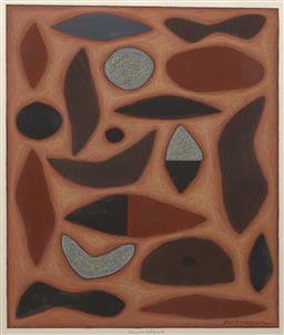 Sale 9199J - Lot 6 - John Coburn - Abstract 60cm x 52cm