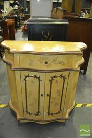 Sale 8386 - Lot 1029 - Small Bombay Style Hall Cupboard